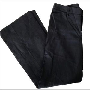 Club Monaco Black Cotton/ Linen Blend Pants